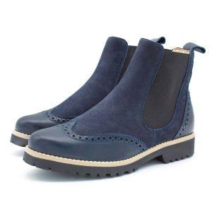 klassischer Chesea Boot - dunkelblau - Paar