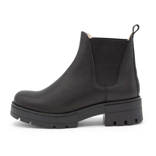 Chunky Boot | Model Feldmaus | schwarz | Seitenansicht | Chelsea Boot