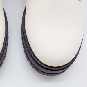 schwarzweiße Stiefel - Einhorn - Kappe