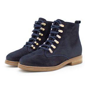 dunkelblauer Ankle Boot