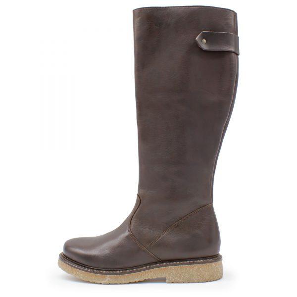 hoher Stiefel - Hermelin