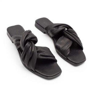 Eckige Sandale - Wasserknöterich - schwarz - Paar