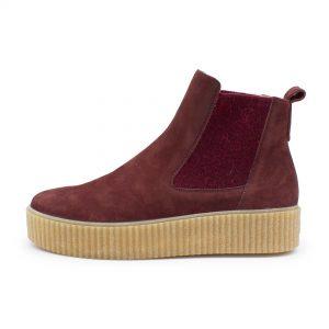 Chelsea Boots - B-Ware - bordeaux - Seitenansicht
