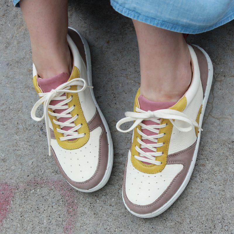 Schuhe aus Bioleder