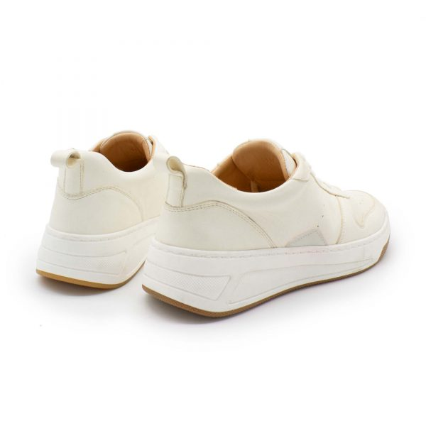Chunky Sneaker - Baumsegler - naturweiß - paar - Hinten