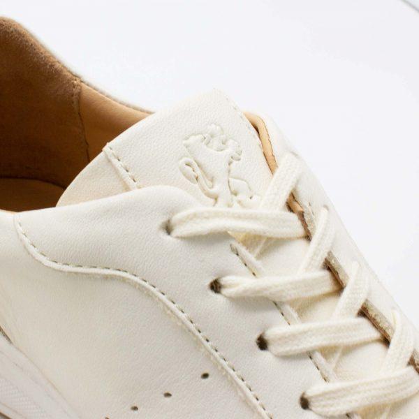 Chunky Sneaker - Baumsegler - naturweiß - paar - Detail Lasche