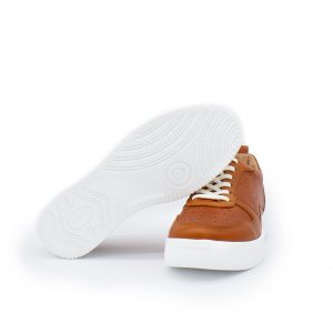 brauner Ledersneaker - cuoio - Sohle