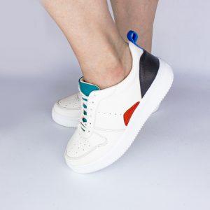 Sneaker bunt weiß bio