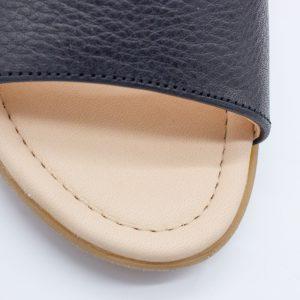 elegante Sandalette - schwarz