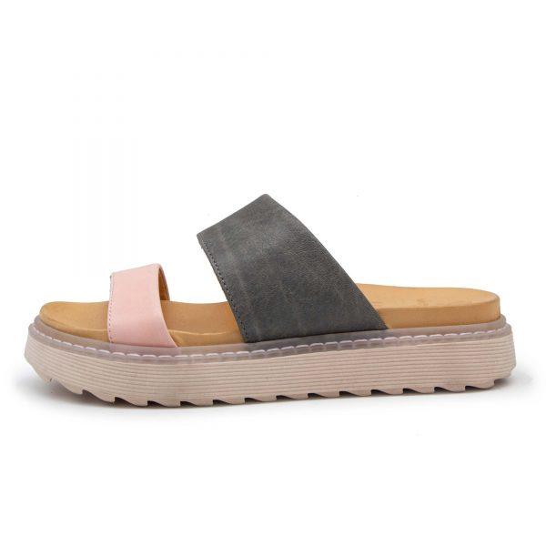 Plateau Pantolette - Perla - rosa