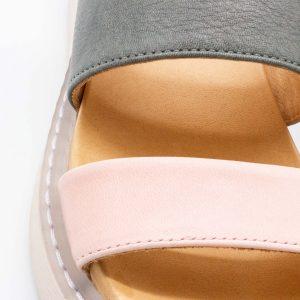 Plateau Pantolette - Perla - Detail Riemen