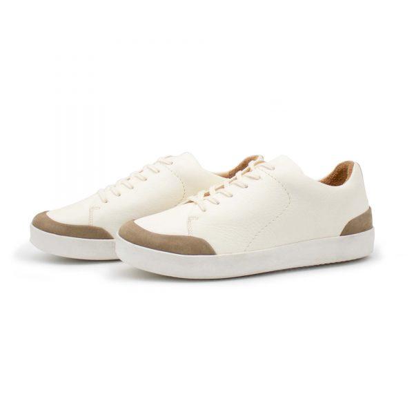 femininer Ledersneaker - Star - stone - Paar