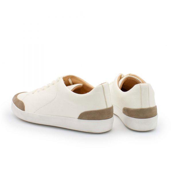 femininer Ledersneaker - Star - stone - Hinten