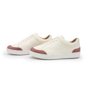 femininer Ledersneaker - Star - altrosa - Paar