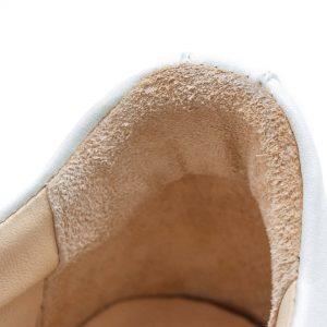 femininer Ledersneaker - Star - altrosa - Detail Futter