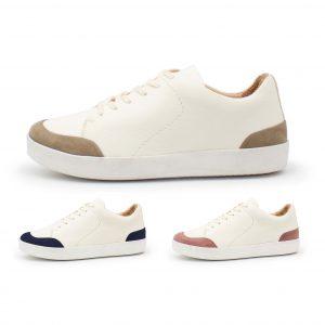 femininer Ledersneaker - Star - Farben