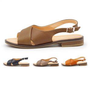 Sandale mit gekreuzten Riemen - Surfinia - Farben