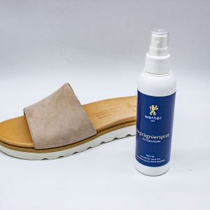 Imprägnierspray für Naturleder - mit Schuh