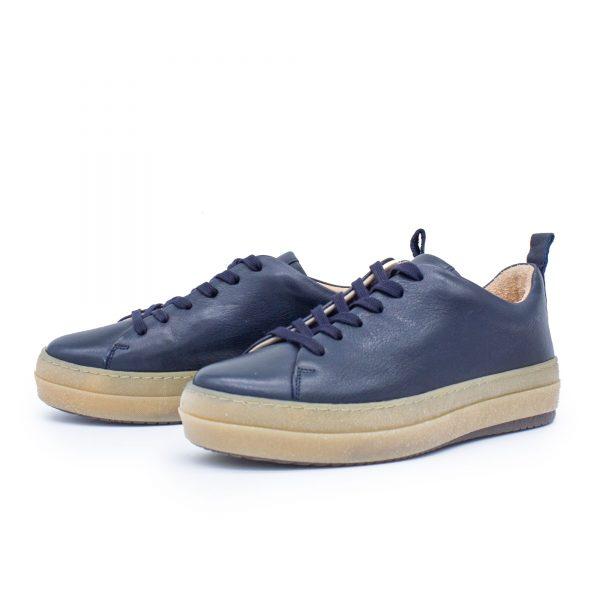"""Sneaker """"Haussperlins"""" aus Naturleder (kontroliert biologische Tierhaltung & pflanzlich gegerbt)"""